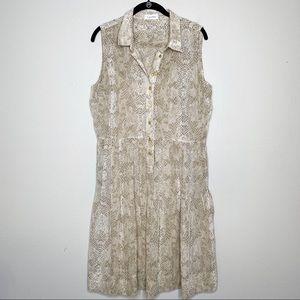 🌷 Calvin Klein snakeskin dress